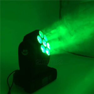 Светодиодная лампа 7x12W / 12x12W / 36x3 RGBW с подвижным головным освещением