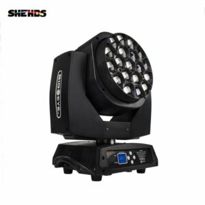 LED Beam + Очистка Big Bee Eye 19x15 Вт RGBW с подвижной головкой Zoom Lighting