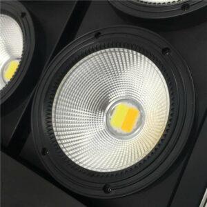 Светодиодный свет Blinder 4x100W Светодиодный свет УДАРА С 2 каналами 4 глаза Глаз Blinder сценическое освещение для событий Показать быстрая бесплатн