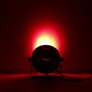 Алюминиевый сплав LED Flat Par 18x18 Вт Освещение DJ Par Cans Dmx 512 Легкое мытье Освещение сцены