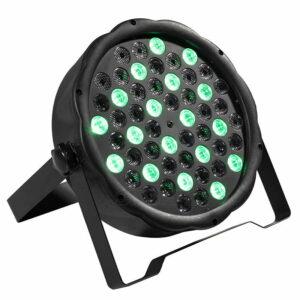 Быстрая доставка LED 54x3W RGBW / 54x3 Только фиолетовый LED Flat Par RGBW Смешение цветов DJ Wash Light Подсветка сцены KTV Disco DJ DMX512