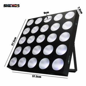 Светодиодное матричное освещение 25x30 Вт RGBW
