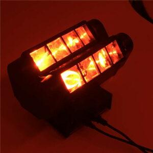 Мини светодиодный луч Spider 8x10W RGBW Перемещение Головное освещение