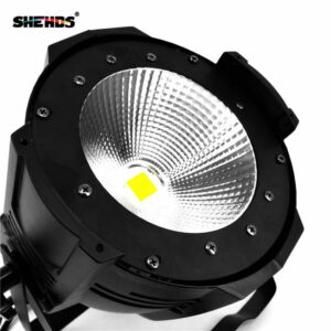 Алюминиевый сплав LED Par COB 100W Холодное белое + теплое белое освещение / холодное белое / теплое белое / с освещением дверей сарая