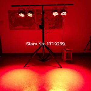 18x12 Вт RGBW Светодиодный Номинальный Свет DMX Сценические Фонари Деловые Фонари Профессиональный Плоский Par Может для Партии KTV Диско DJ Uplightin