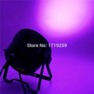(Малый) Алюминиевый сплав LED Par 18x15 Вт RGBWA Алюминиевый материал для профессионального освещения