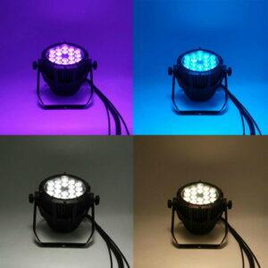 Factory Outlet Водонепроницаемый 18x12 Вт RGBW 4in1 И 18x18 Вт RGBWA + УФ 6in1 Алюминиевый Сплав LED Par Свет Для Dj Проектор Этап Партия Свадьба