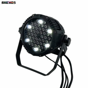 Литой алюминиевый светодиод Par Can 54x3W Водонепроницаемый светодиодный свет Par для свадьбы / на открытом воздухе / вечеринки DMX512 8 каналов свето