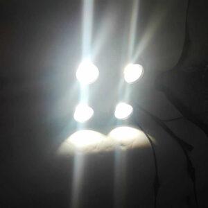 Новинки Водонепроницаемые 4-х светодиодные 400 Вт светодиодные лампы для зрителей Теплый / холодный белый водонепроницаемый IP65 с использованием нару