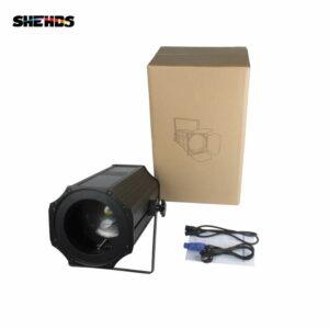 Двухцветный светодиод 200 Вт COB Zoom Par Теплый / холодный белый свет LED Par Light Сценический свет для дискотек DMX 512 Профессиональное диджейское