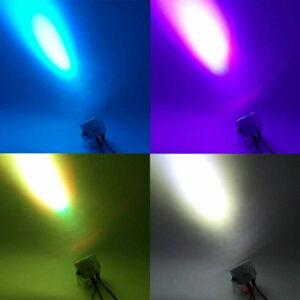 LED Par 12x3W RGBW Светодиодный свет этапа Par Light с DMX512 для диско DJ Party Украшение освещения сцены