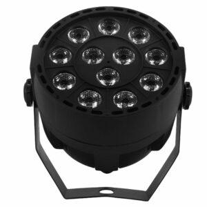 LED Flat Par 12x3 Вт Ультрафиолетовое Цветное Освещение LED Stage Light Par С DMX512 для дискотеки DJ projecto Вечеринка Украшения