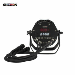 Новый продукт светодиодный водонепроницаемый светодиодный Par 7x12W RGBW / 7x18 RGBWA + УФ-свет Бесплатная доставка